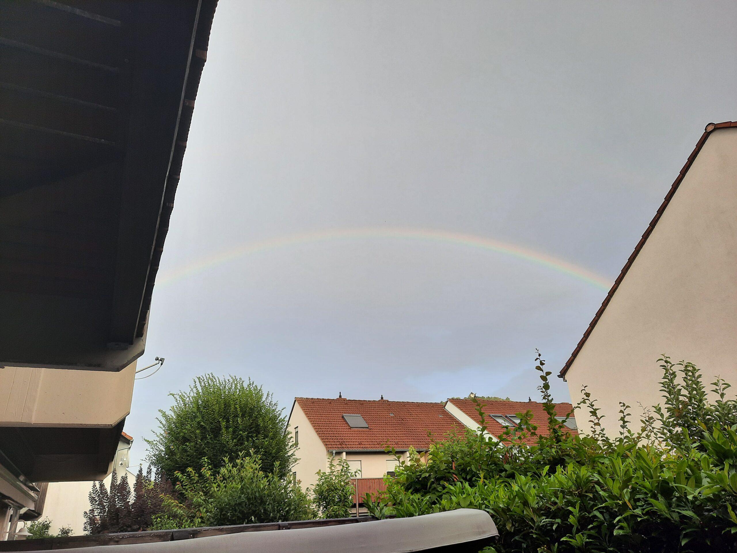 Zeitqualität Regenbogen